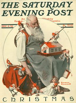 Santa in Art History PPT