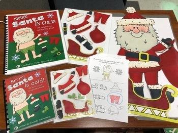 Santa is Cold! An interactive & adaptive book (+Bonus NO PRINT book!)