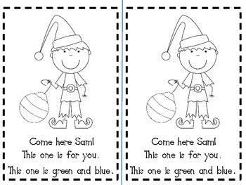 Santa is Coming! Emergent Reader