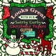 Santa is Coming to Christmas Town Clip Art {Soldier, Presents, Stockings, Candy}