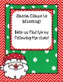 Santa is Missing- Scavenger Hunt
