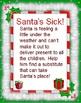 Santa is Sick Writing Pack
