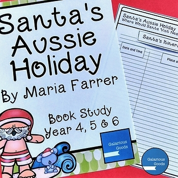 Santa's Aussie Holiday by Maria Farrer - Christmas Book Study