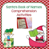 Santa's Book of Names Book Companion:  Comprehension Activities
