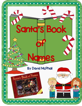 Santa's Book of Names by David McPhail-A Complete Book Res