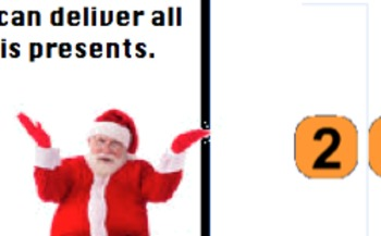 Santa's Christmas Broken Calculator