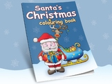 Santa's Christmas Coloring Book