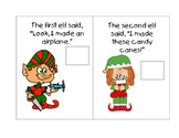 Santa's Christmas Elves Mini Book