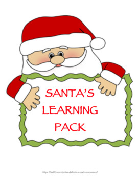 Santa's Christmas Learning Pack
