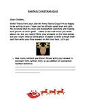 Santa's Christmas Quiz 1