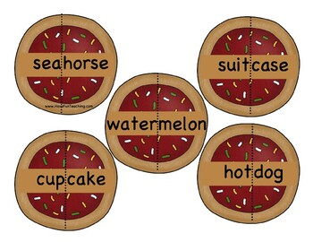Santa's Compound Cookies Compound Words Activity