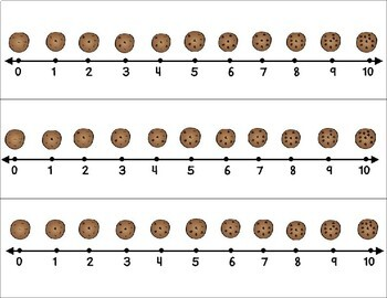 Santa's Cookie Crunch- A number game for greater/less than concepts