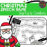 Santa's Cookies: A Christmas Speech Game