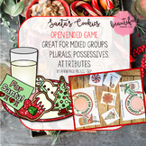 Santa's Cookies Open Ended Game Plus Plurals, Possessives, Attributes