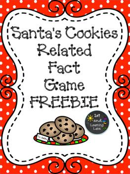 Santa's Cookies Related Fact FREEBIE