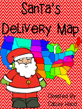 Santa's Delivery Map