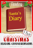 Santa's Diary - 3 Pack - Christmas Reading Comprehensions
