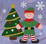 Santa's Elf - Holiday Clip Art Set 01