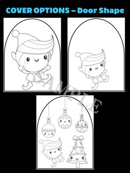 Santa's Elf with Gifts - Moonju Makers Activity, Craft, Writing, Christmas