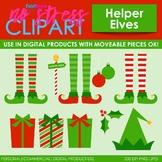 Santa's Elves Christmas Clip Art (Digital Use Ok!)