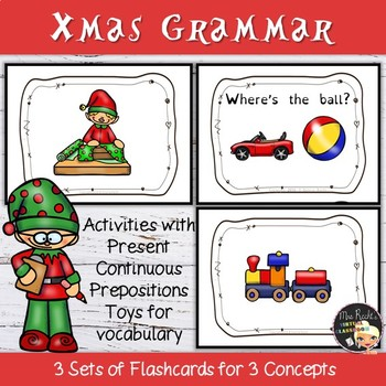 Santa's Elves - EFL Flashcards