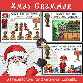 Christmas Grammar Lessons