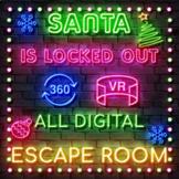 "Christmas Escape Room -  Santa's ""Break In"" Completely Dig"