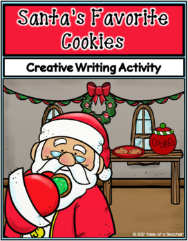 Santa's Favorite Cookies ~ Writing Activity
