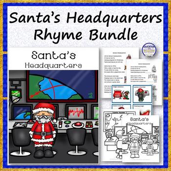 Santa's Headquarters Rhyme Bundle