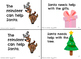 Santa's Helper Leveled Emergent Reader Sight Word {Mini-Book} (Christmas]