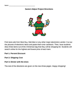 Santa's Helper Percent Project