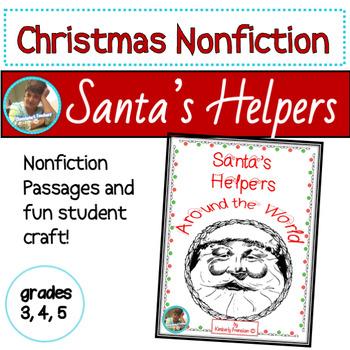 Santa's Helpers Around the World: Non-Fiction Printables