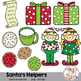 Santa's Helpers Christmas Clipart {Graphics for Commercial Use}