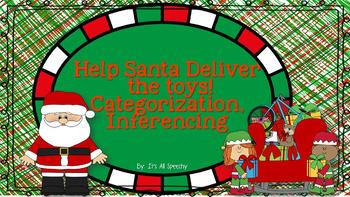 Santa's Helpers!Help Santa Deliver Toys: Categorization & Inferences interactive