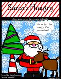 Santa's Hungry-Expressive Language Activity