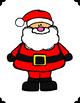 Santa's Hungry-Expressive Language Activity