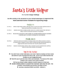 Santa's Little Helper - A STEAM Design Challenge