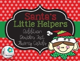 Santa's Little Helpers Addition Doubles Fact Fluency Card