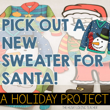 Santa's New Sweater & A New Suit for Santa Projects