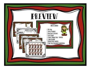 Santa's Parachute - Christmas STEAM STEM