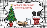 Friday FREEBIE...Santa's Placemat