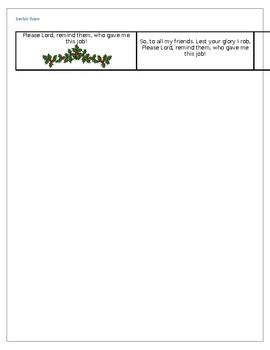 Santa's Poem