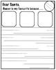 Santa's Reindeer Writing Prompts (32 NO PREP PAGES) US&AUS Spelling