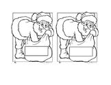 Santa's Sack of Ten Frames 1-10