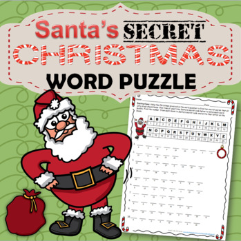 Christmas Word Puzzle