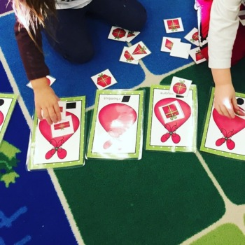 Santa's Shape Workshop - Preschool Christmas Activities