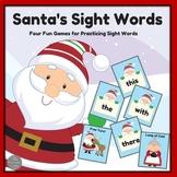 Santa's Sight Word Games