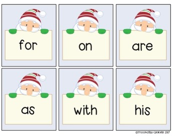 Santa's Sight Word Games