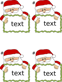 Santa's Sight Word Scoot