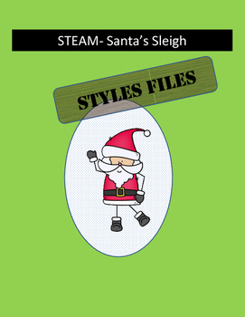 STEAM/STEM- Santa's Sleigh